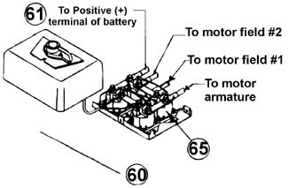 how to mount your warn winch electric 2 way to your rover rh roverparts com Warn ATV Winch Wiring Diagram Warn ATV Winch Manuals