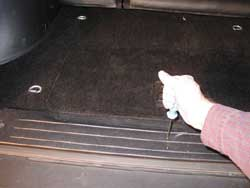 Land rover freelander trailer wiring kit installation instructions remove the six screws that retain the rear door floor trim asfbconference2016 Image collections