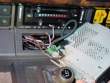 dashboard top removal continued when replacing rrc heater blower motorRange Rover Classic Stereo Wiring #2