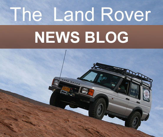 The Land Rover News Blog