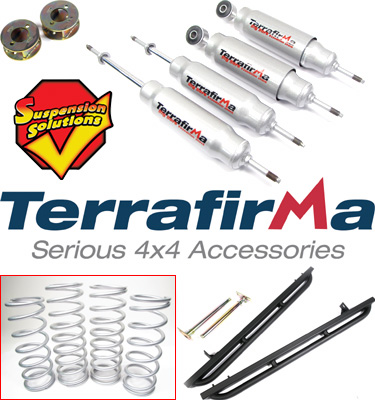 Off-Road Land Rover Parts from Terrafirma!