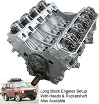 Land Rover Engines from Atlantic British - EXCLUSIVE Remanufactured 4.0 and 4.6-liter Short Block Engines