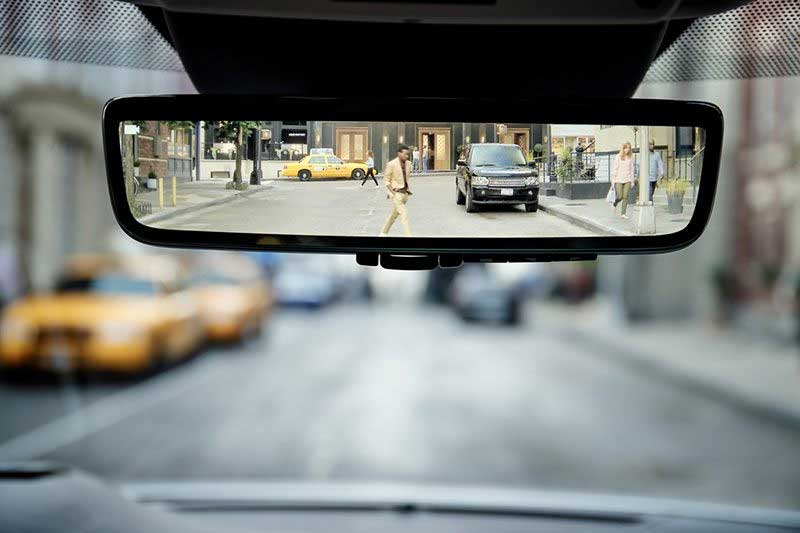 clearview rear-view mirror