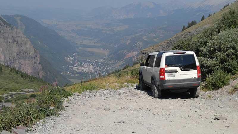 LR3 Overlooking Black Bear Pass