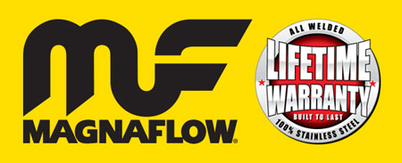 Magnaflow Logo Lifetime warranty