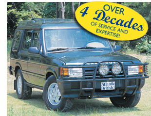 Land Rover Discovery I Parts Catalog