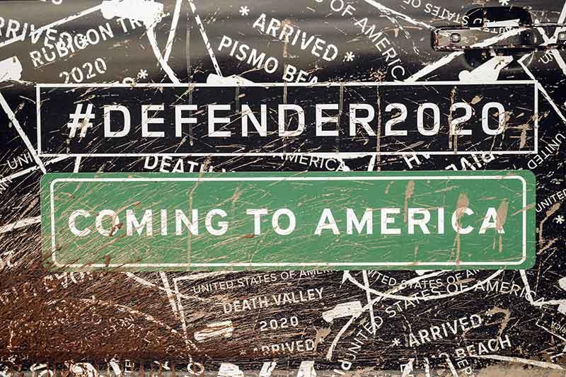 Land Rover Defender in 2020
