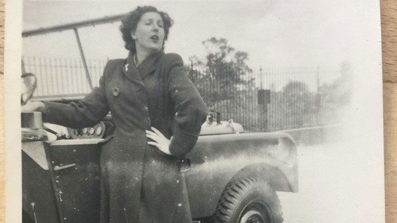 Historical shot of Dorothy Peters