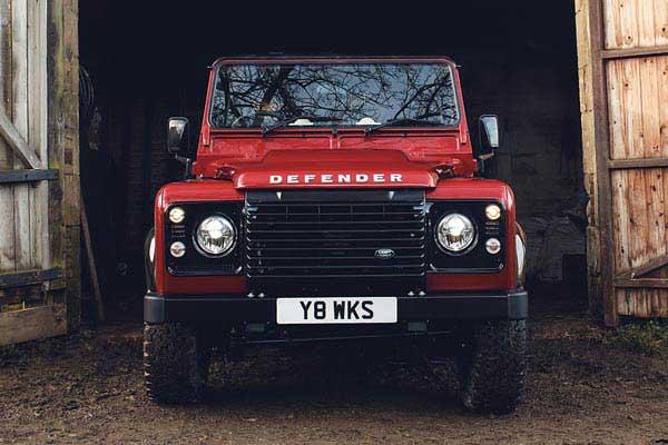 Land Rover Classic Works Defender Rework