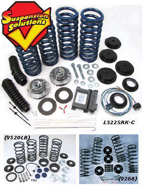 Suspension Solutions: Coil Spring Conversion & Air-To-Coil Conversion Kits