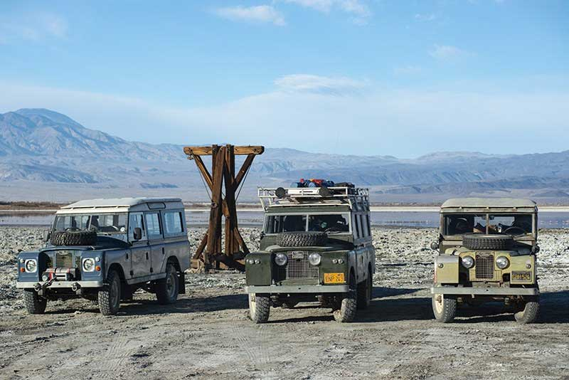 Land Rover Series Parking Rules
