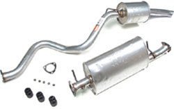 Land Rover Exhaust Parts