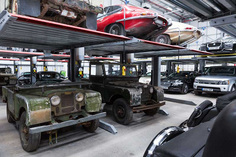 Inside The Land Rover Classics Workshop