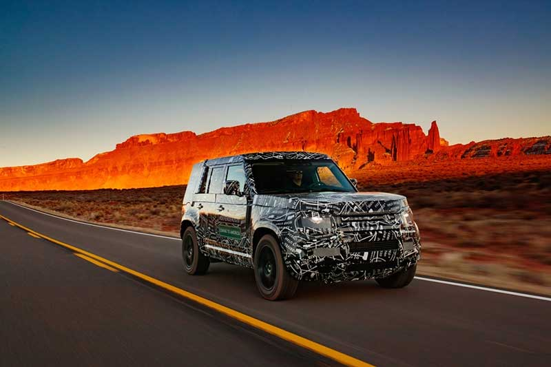 Land Rover Defender In The American West