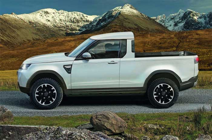 Land Rover Defender Pick-Up concept