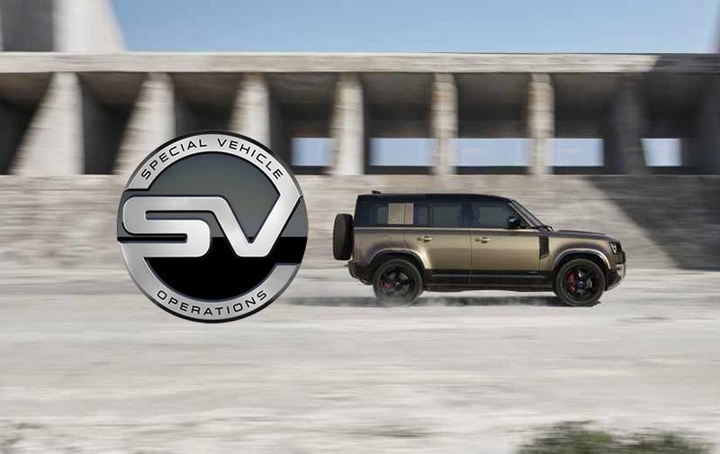 Land Rover Defender SVR Artwork