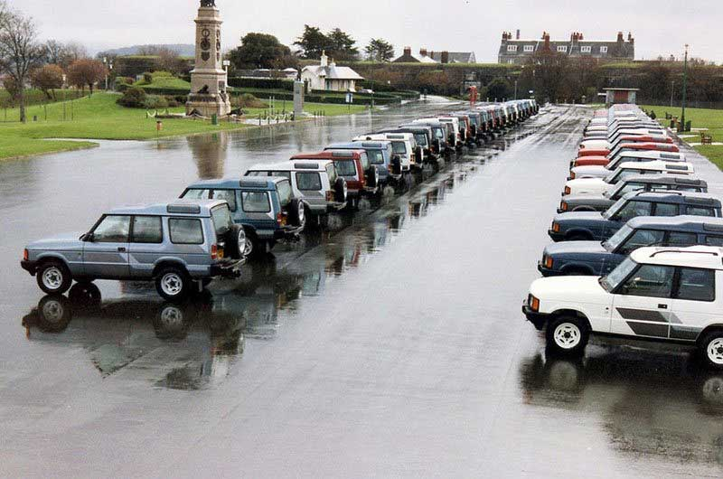 1989 Launch Of Land Rover Discovery I