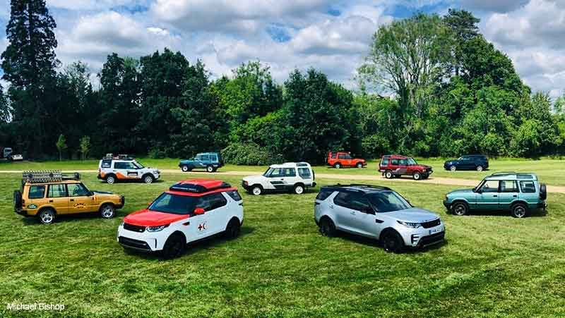30th Anniversary Land Rover Discovery Lineup