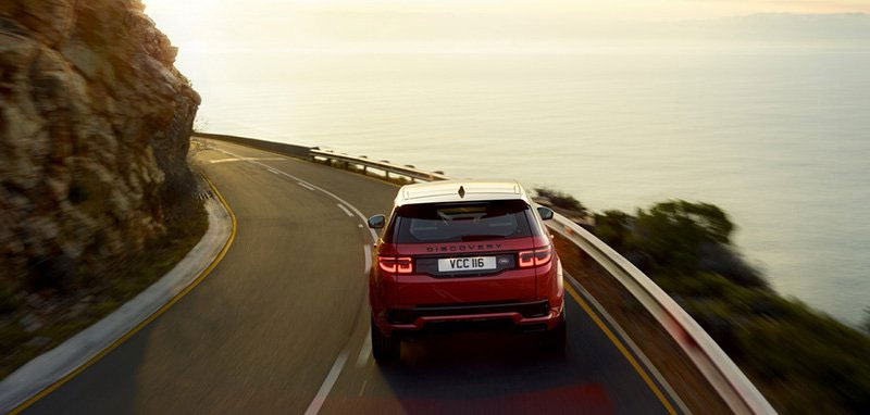 2020 Discovery Sport Rear Shot