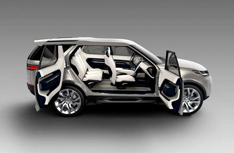 Concept Shot Of Land Rover Discovery Interior