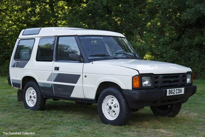 First Pre-Production Land Rover Discovery 1
