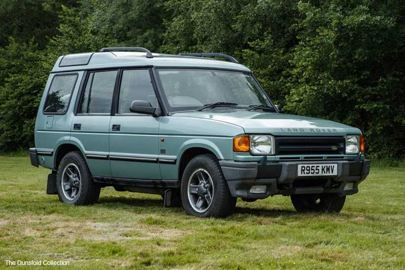 Last Land Rover Discovery 1 Produced
