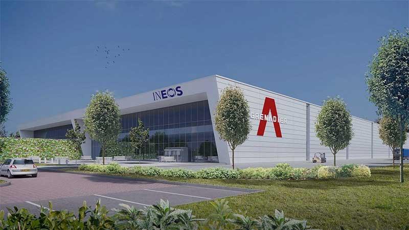 Ineos Factory Concept Art