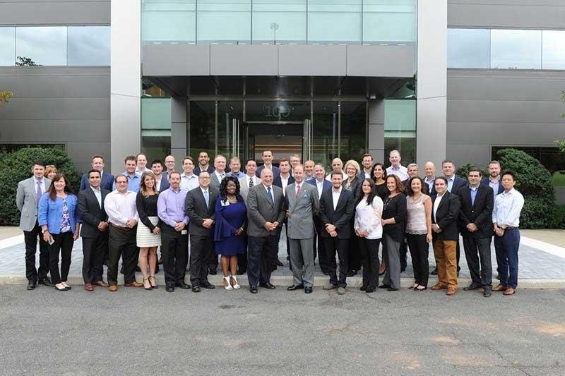Jaguar Land Rover US Employee Group Shot