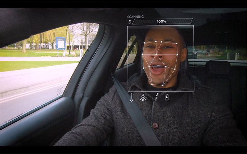JLR Mood Detection Technology Concept