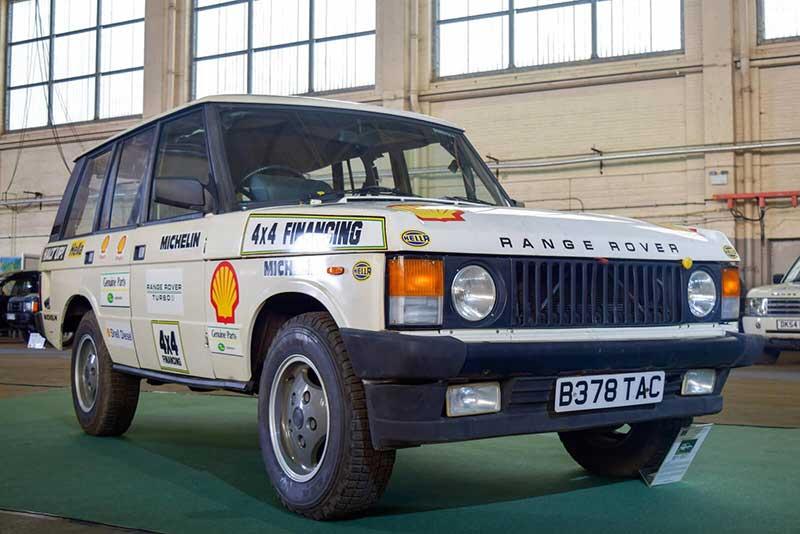 historic Range Rover at 70th anniversary celebration