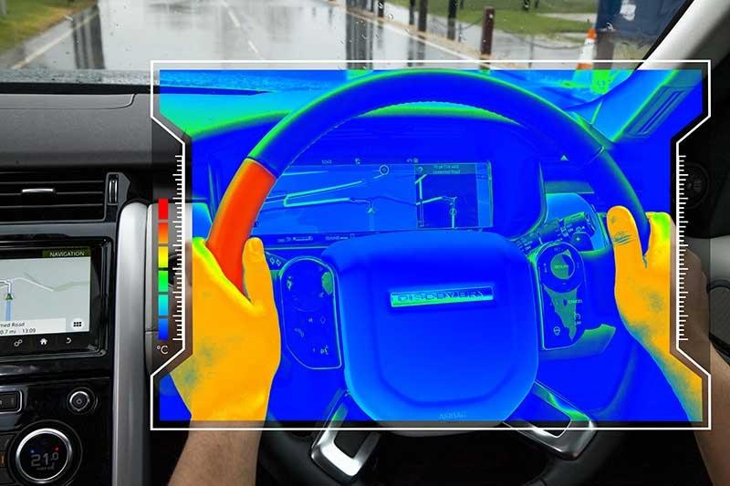 temperature changing steering wheels