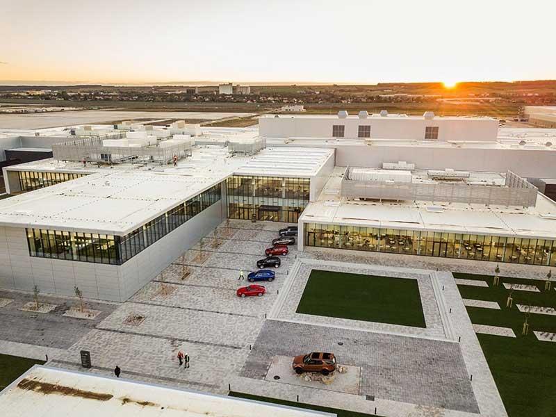 New JLR factory in Slovakia