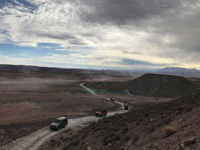 Rovers on the trail at the national rally