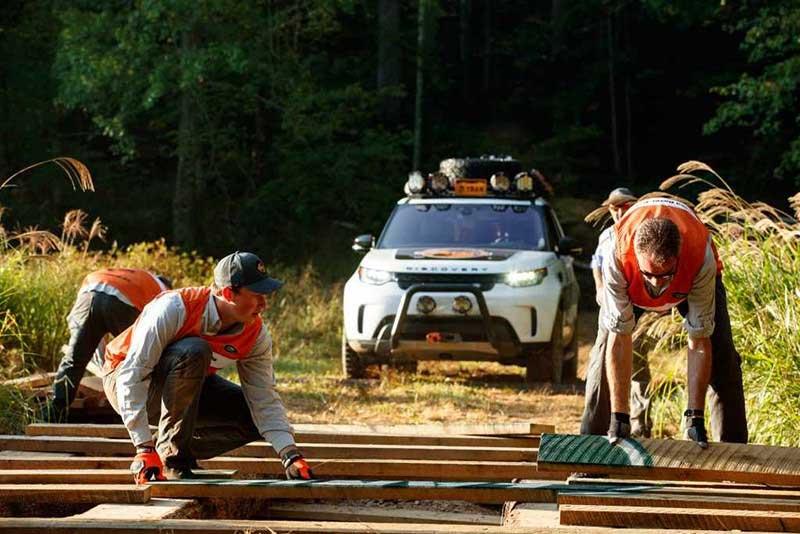 2019 Land Rover TReK Team Shot During Trials
