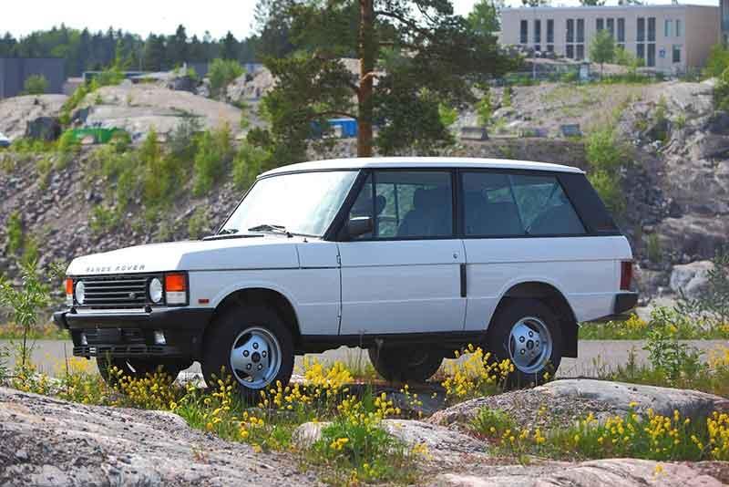 Last 2-Door Range Rover Classic