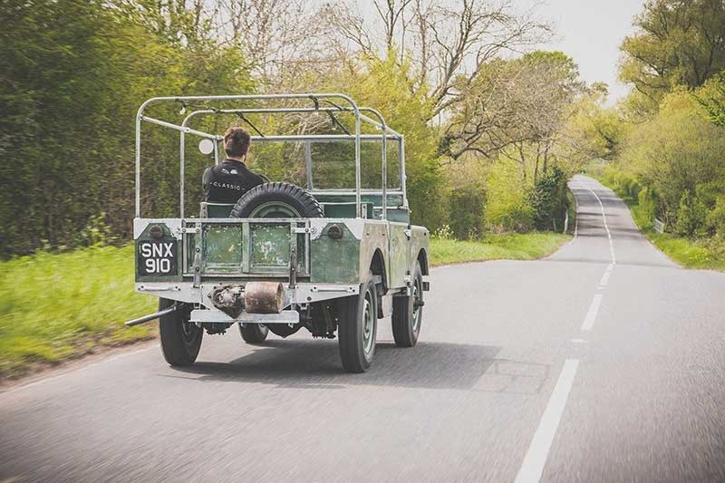 First Land Rover Series 1 Back On The Road