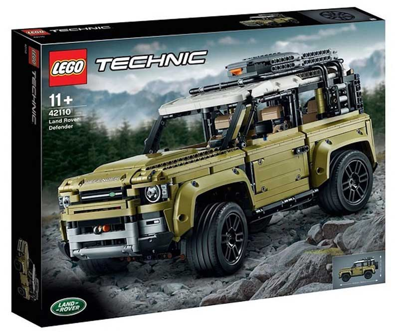 Leaked Lego Technic Land Rover Defender Set