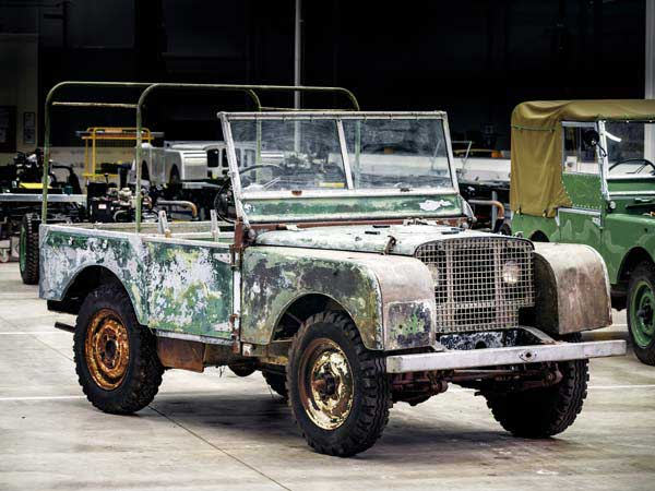 Land Rover Classic Restoration Project