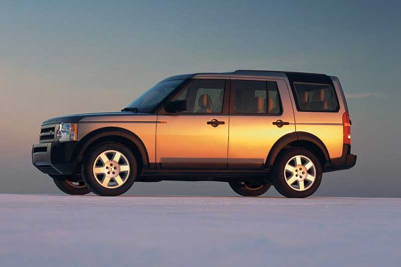 Land Rover LR3 Launch Photo