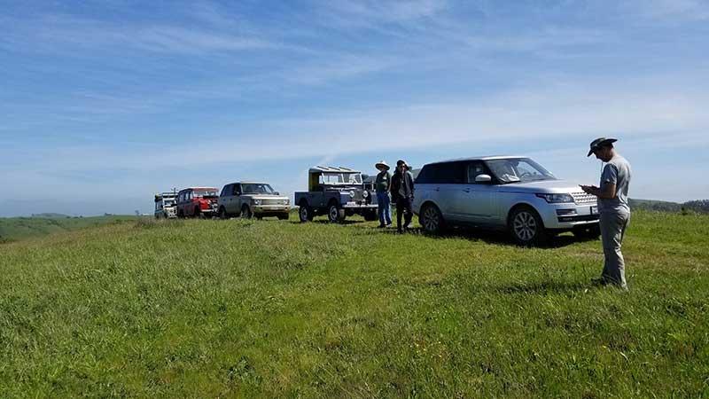 Mendo Recce Land Rover Caravan