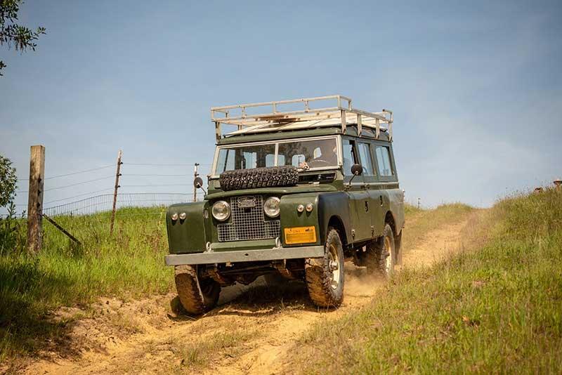 Mendo Recce Slow Descent Race Land Rover Series