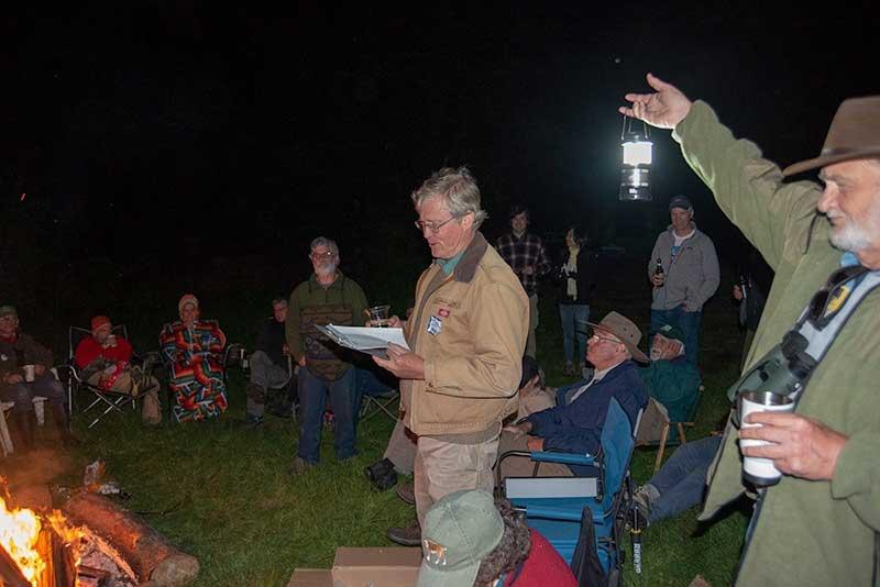 Mendo Recce campfire