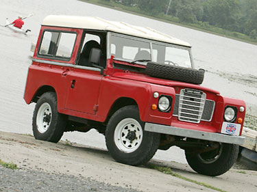 Land Rover Series truck
