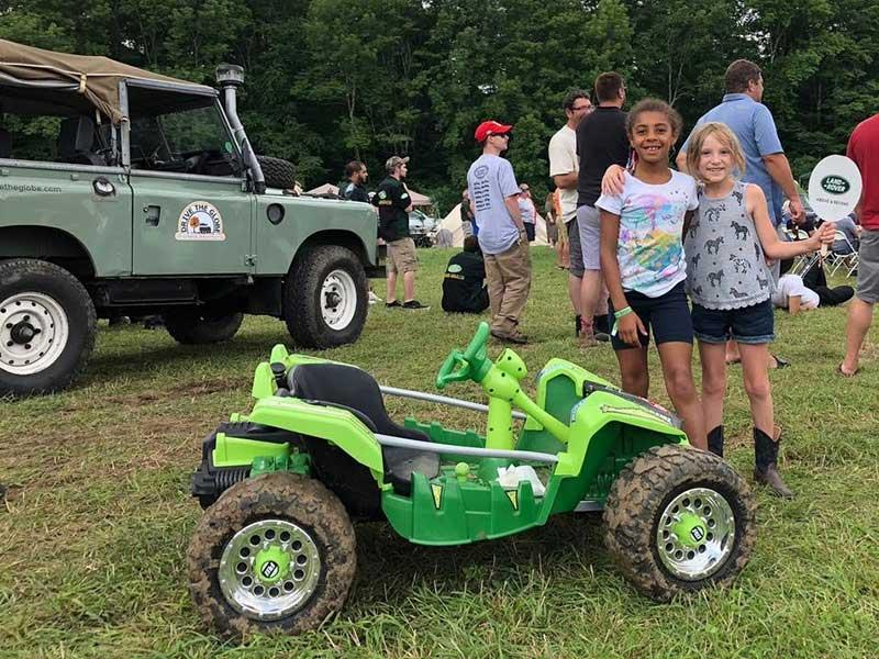 Land Rover Club Junior Members