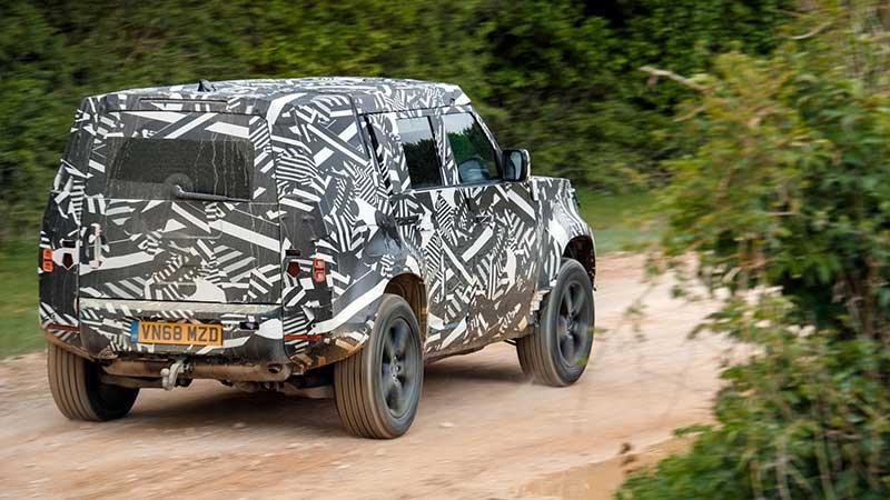 New Defender On The Developing World Track