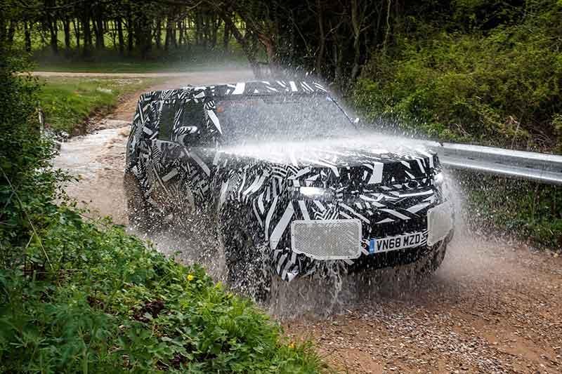 New Defender Road Test Promo Shot