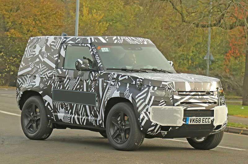 Land Rover Defender Short Wheel Base Mule