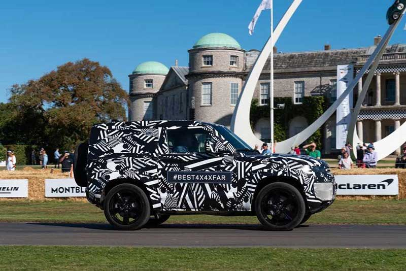 New Defender At Goodwood Festival Of Speed