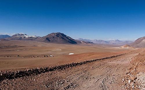 Atacama Desert Plateau