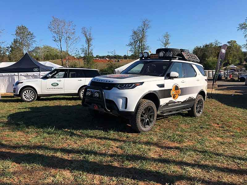 Land Rover Experience TReK Discovery Sports